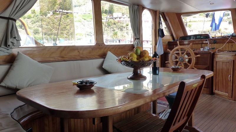 Boat & Breakfast - interno barca
