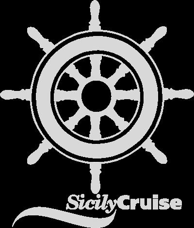 timone con logo sicily cruise