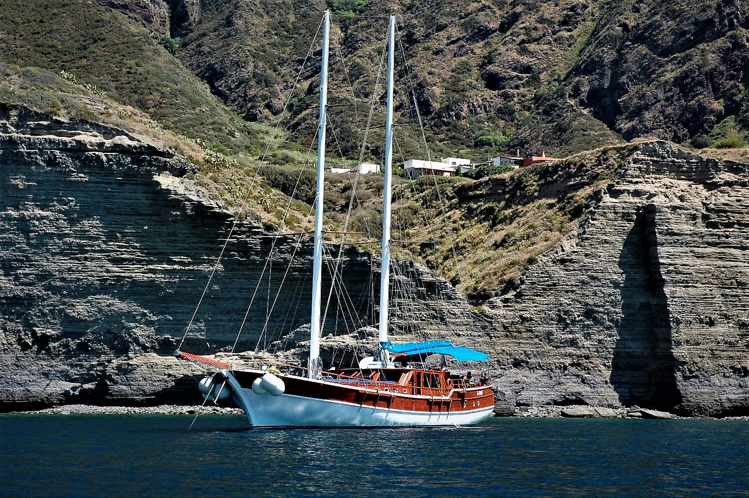 Last minute: Gulet cruise to Aeolian Islands, 1050 € Full board included.